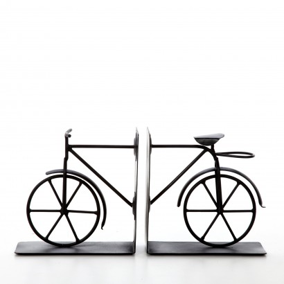 Hosley's Vintage Design Retro Bicycle Bookends - 6 5